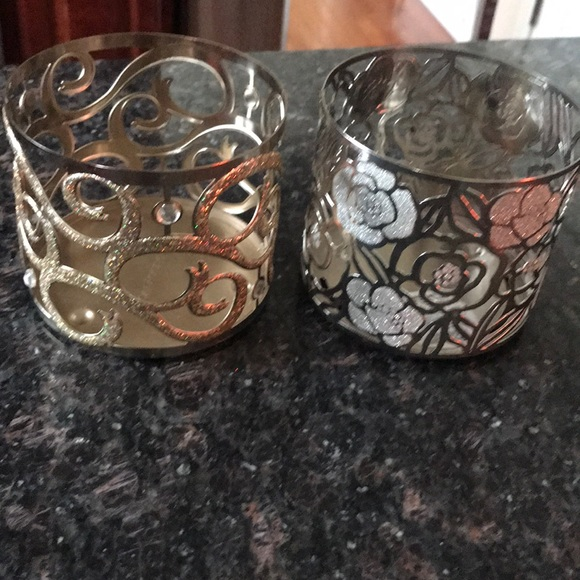 Bath & Body Works candle holders 😊